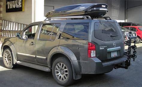 Nissan Pathfinder Roof Rack by Nissan Pathfinder 4dr Rack Installation Photos