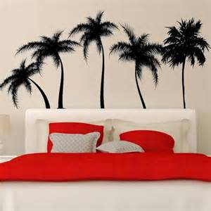 Tropical Wall Stickers Palm Trees Wall Decal Sticker Tropical Wall Decals