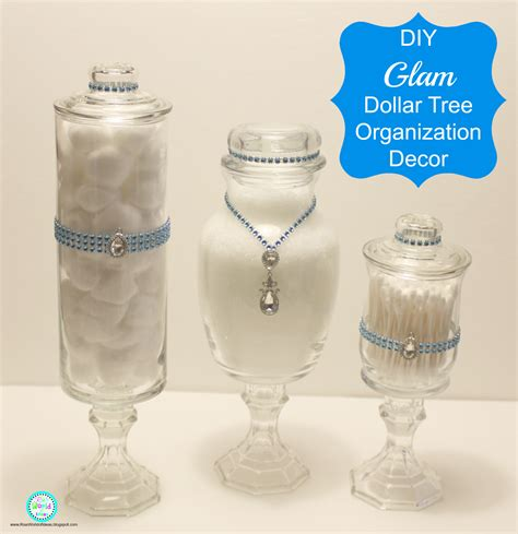 ria s world of ideas diy glam dollar tree organization decor
