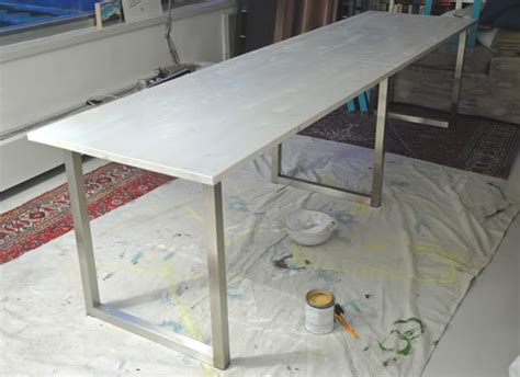 Diy Easy Desk Easy Diy Desk With Ikea Table Tops And Legs