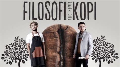 bintang film filosofi kopi rio dewanto berpenilan misterius di poster karakter