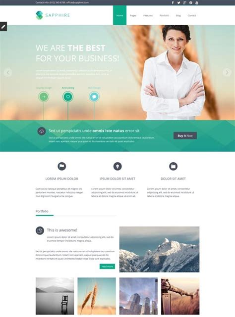 22 Free Premium Business Website Templates Dzineflip Business Website Templates