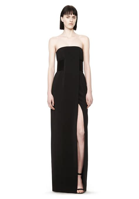 strapless gown long dress official site