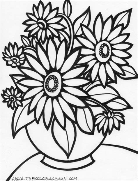 coloring pages rose flower coloring page flowers coloring