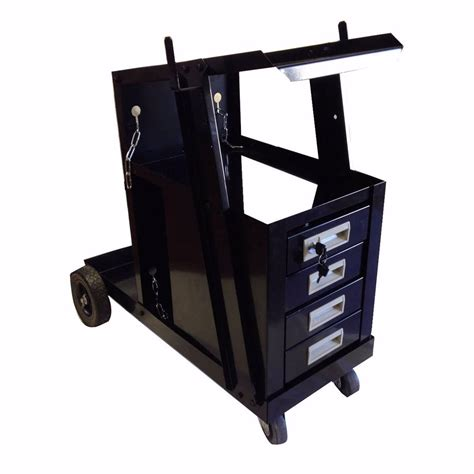 Welding Cart With Drawers by Universal Welding Cart W 4 Drawer Cabinet Mig Tig Arc