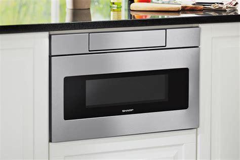 sharp microwave drawer sharp updates its microwave drawer for universal design