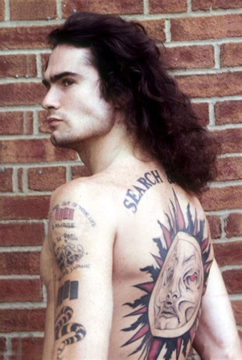 henry rollins tattoo henry rollins circa early 80 s the beautiful humans