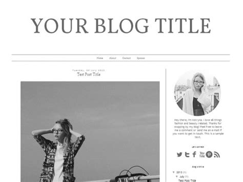 notebook templates for blogger download free blogger template design fashion
