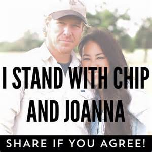 Chip and joanna gaines of hgtv s fixer upper are being called quot anti