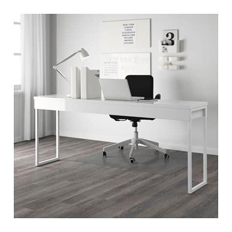 bestå burs desk high gloss white best 197 burs desk high gloss white 180x40 cm ikea