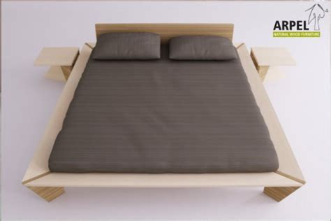Japanisches Bett Futon by Japanese Origami Bed In Solid Beechwood