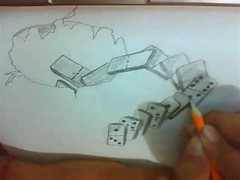 Imagenes 3d A Lapiz Faciles | dibujo a lapiz 3d youtube