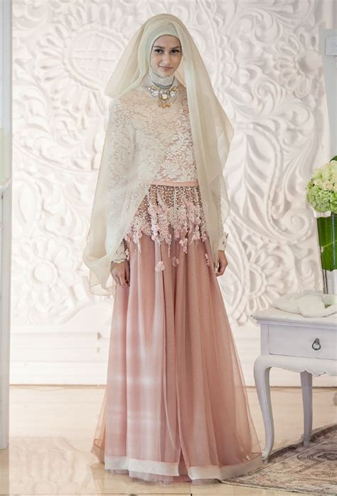 Gambar Jilbab Pengantin kebaya pengantin jilbab gambar model kebaya pengantin