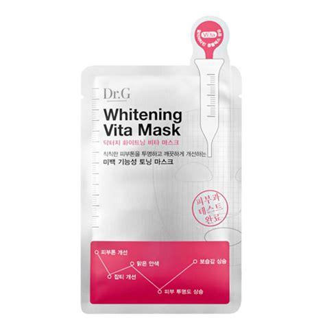 Dr Whitening dr g whitening vita mask dr g mask sheets shopping