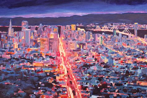 paint nite san francisco san francisco market from peaks