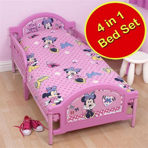 character beds 4 in 1 character bedding bundles to fit junior toddler