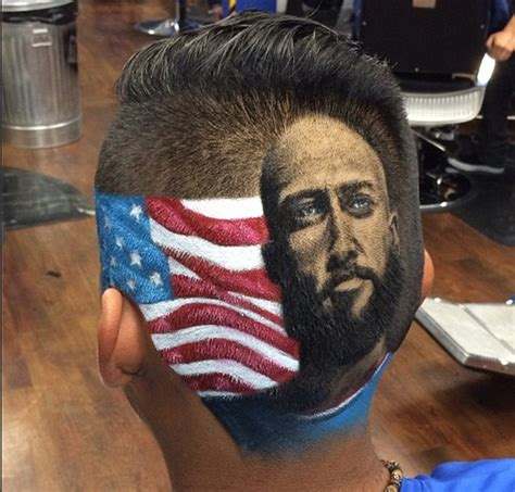 soccer players haircuts designs tim howard makes a great shave san antonio barber