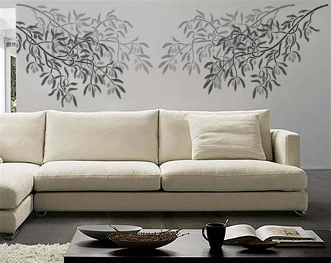 stencil decorating walls branch stencil for walls olive branch durable wall stencil