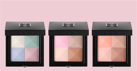 Givenchy Prisme Again Arty Color Blush Quartet by Givenchy Le Prisme Visage Silky Powder Quartet Top