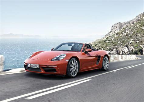 Price Of Porsche Boxster by 2017 Porsche 718 Boxster Price Specs And Photos