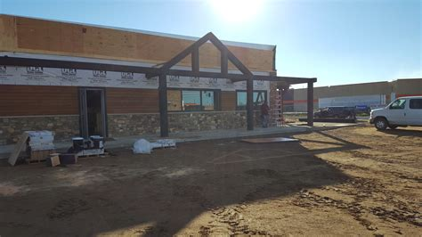 the boulder tap house boulder tap house exterior timbers minnesota blue ox timber frames