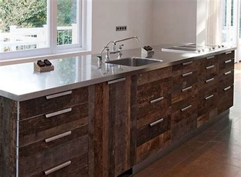 reclaimed wood cabinets for kitchen reclaimed wood kitchen cabinets in rustic theme
