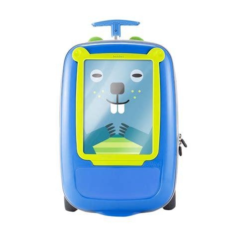 Tas Sekolah Anak Trolley Optimus Blue jual benbat go vinci trolley tas anak blue green harga kualitas terjamin blibli