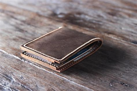 Handmade Leather Wallet - handmade leather wallet joojoobs