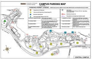 of colorado parking map new parking system unveiled uccs communique