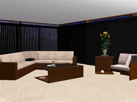 sims 3 couch drib ydal s living room sofa and armchair