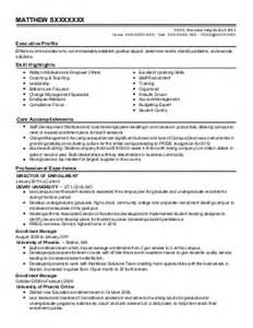 testing specialist resume exle of at
