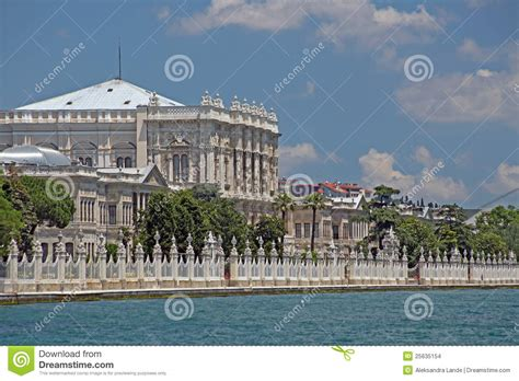 ottoman palace the dolmabahce ottoman palace stock images image 25635154
