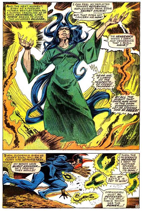 Stealing Eternity dormammu and umar vs eternity battles comic vine