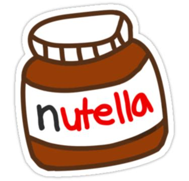 imagenes png nutella quot cute tumblr nutella pattern quot stickers by deathspell