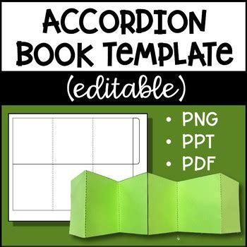 Accordion Book Template Templates Data Accordion Card Template