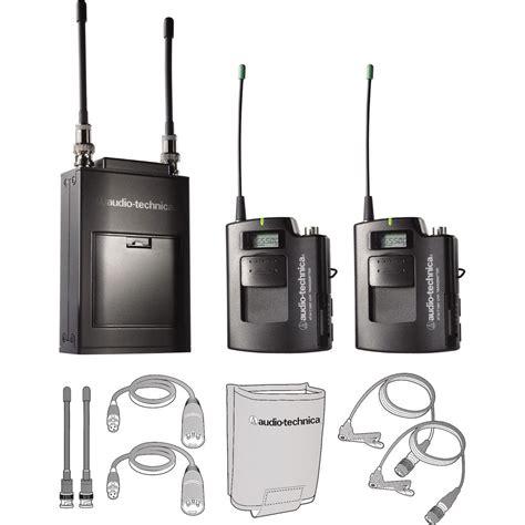Microphone Wireless Sony Ak 22 audio technica atw 1821 dual wireless microphone system