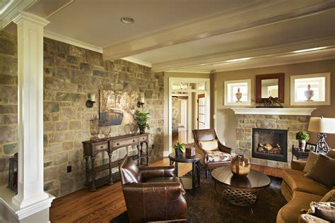 home interior wall design rock your home with stone interior accents