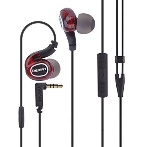remax rm s1 pro sports in ear wired earphone portable
