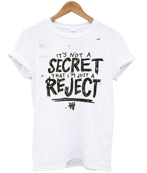 Tshirt 5 Seconds Of Summer 5 seconds of summer rejects t shirt