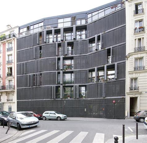 delaware housing herzog de meuron rue des suisses housing paris herzog de meuron pinterest