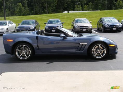 2011 corvette convertible 2011 supersonic blue metallic chevrolet corvette grand