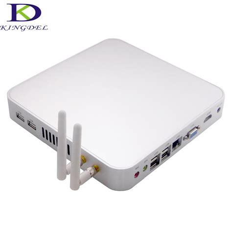 Industrial Mini Pc X86 Intel I3 Ram 4gb Ssd 32gb Wifi H Murah cheap intel celeron 1037u fanless mini computer x86 x64