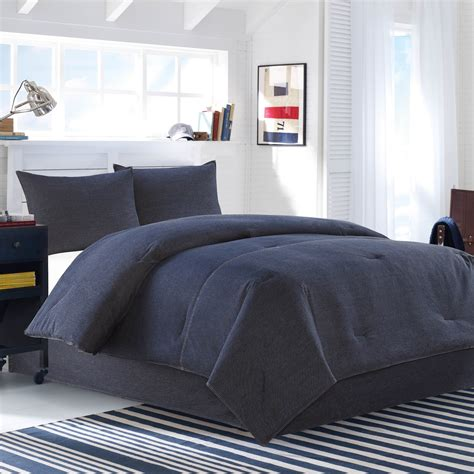 denim comforter set full nautica seaward denim comforter set full queen ebay