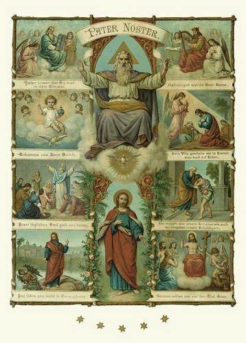 padre nuestro pater noster pater noster padre nuestro que estas en el cielo