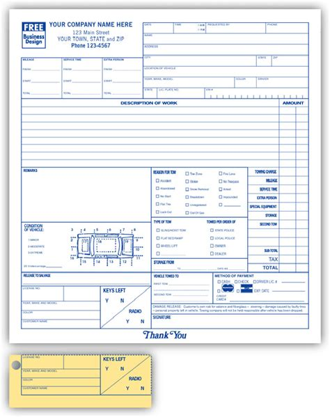 auto mechanic work order template repair estimate form repair work order form template
