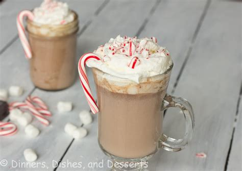 Peppermint Hot Chocolate #ChristmasWeek