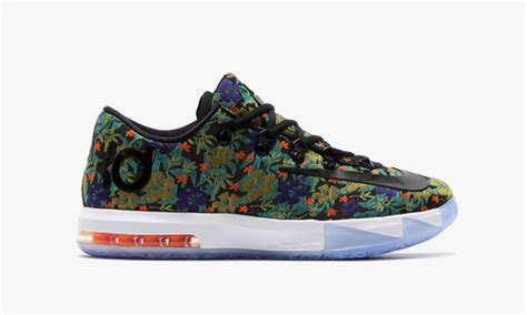 flower pattern kd 6 nike kd vi ext quot floral quot highsnobiety