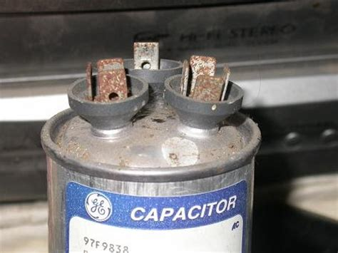 run capacitor exploded losing creek farm the day the a c died