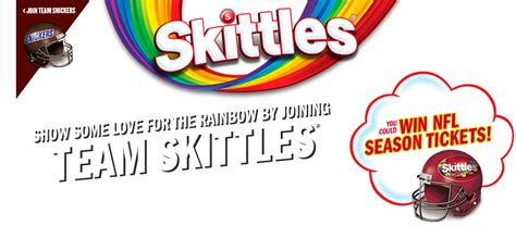 Skittles Super Bowl Sweepstakes - sponsors release teaser super bowl ads skittles and snickers launch super bowl lii