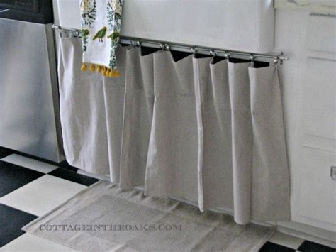 under bathroom sink curtain 300 best images about conserve w cabinet curtains on